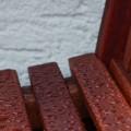 teak-bench-rain