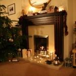 sheetrock fireplace